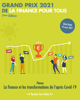 """Grand prix La finance pour tous "" 2021"