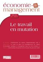 Revue Économie et Management n°167 avril 2018