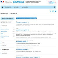 Un moteur de recherche fédérée sur Éduthèque